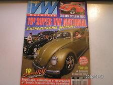 **a Super VW Magazine n°204 Ovale 1957 / Westfalia 1967 / Cox Pick up 64