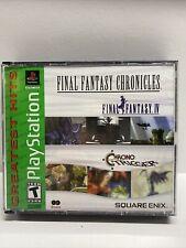 Final Fantasy Chronicles: Final Fantasy Iv & Chrono Trigger Ps1 Silver Disc