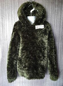 CHILD'S FUNKY FUR HOODED TOP TO FIT AGE 5 TO 6 YRS