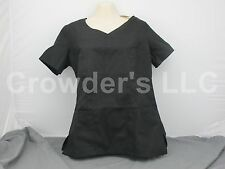 Scrub Star Fashion Shirt Top Size Small Color Black