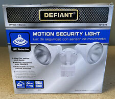 Defiant DFI-5415-WH 110-Degree White Motion Activated Outdoor Flood Light