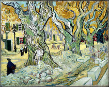 VAN GOGH Large Platunus canvas print giclee 16X12 reproduction painting poster
