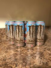 NEW JAVA MONSTER SWISS CHOCOLATE COFFEE + ENERGY DRINK 15 FL OZ FULL LOT OF 12