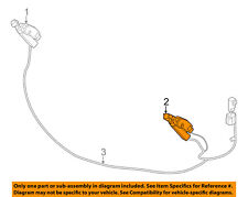 VOLVO OEM 11-13 S60 Headlight Head light lamp Washer/wiper-Nozzle 30784344