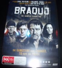 Braquo The Complete Season 1 (Australia PAL Region 4) DVD – New (Not Sealed)