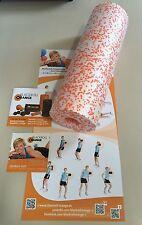 Blackroll naranja el original med masaje papel entrenamiento DVD entrenamiento póster 45cm