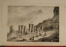WAD BAN-NADA TYPHONIUM SUDAN 1823 CAILLIAUD ANTIQUE ORIGINAL LITHOGRAPHIC VIEW