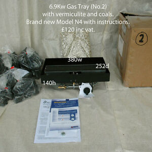 6.9 kW Gas Tray