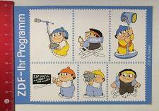 Decal/Sticker: ZDF-your program Mainzelmännchen (13031621)