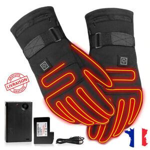 FRETOD Homme Moto Noir Sport Gant avec /Écran Tactile Ajustable et la Protection Commune Ski Camping Randonn/ée Sport Outdoor
