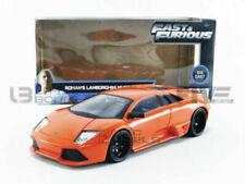 Voitures miniatures orange Lamborghini