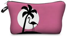 pochette flamingo, fenicottero, porta trucchi, porta penne