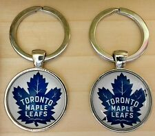 Toronto Maple Leafs Crest Cloisonné Keyring,25mmDia.,Nice Gift @ Only £4.50p