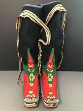 Tibetam Refugee Felt Boots Shoes