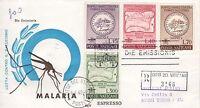 Vaticano 1962 FDC Venetia Club Malaria (E)