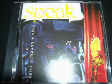 Kerri Simpson + Veve Speak Rare Australian CD – Like New