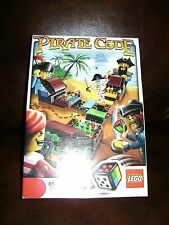 LEGO 3840 PIRATE CODE DICE BOARD GAME MINT CONDITION COMPLETE