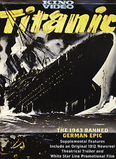 Titanic (DVD, 2004) German Banned 1943 Film - Kino Lorber