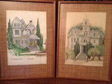 Original Architectural Art Historical Home in Sacramento California Artist #42