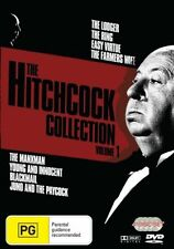 The Hitchcock Collection : Vol 1 (DVD, 2007, 4-Disc Set)-REGION 4-Free postage