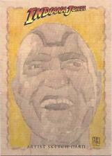 "Indiana Jones Heritage - Don Pedicini Jr ""Mola Ram"" Sketch Card"
