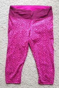 Lululemon Athletic Running Yoga Fitted Leggings Pants Women's Size 6 EUC