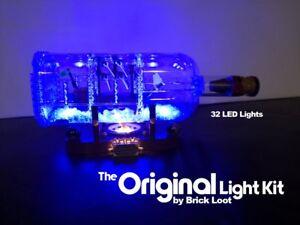 LED Lighting Kit for your Ship in a Bottle 21313