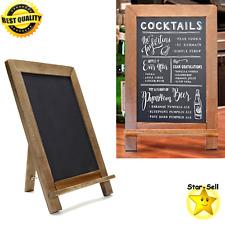 Decorative Standing Chalk Board Vintage Slate Kitchen Chalkboard Message Board