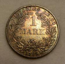 Germany 1906A 1 Mark KM14 AU (toned) - Wilhelm II
