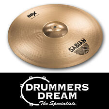 "SABIAN B8X 18"" Thin Crash Cymbal 41806X Bright with Loud Attack RRP $259.00"