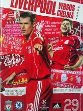 Liverpool v Chelsea Uefa Champions League Semi Final 2nd Leg 1/5/2007 Mint