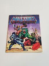 King of Castle Grayskull Mini Comic Book He-Man MOTU 1980's Mattel