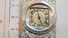 C.H MEYLAN LADIES OR BOYS OVERSIZED WATCH STERLING SILVER CASE