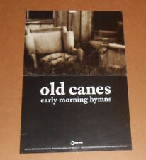Old Canes Early Morning Hymns Poster Original Promo 18x12 Rare