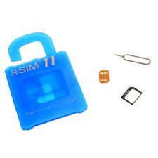 Blue R-SIM11 General Nano Cloud Unlock Card For iPhone 5/6/6S/7/8 Serise  Pro
