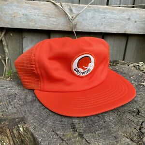 Cleveland Browns 80s NFL Football Snapback Hat