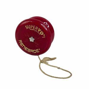 SuperYo! Renegade Red Yo-Yo Transition Ball Bearing Toy