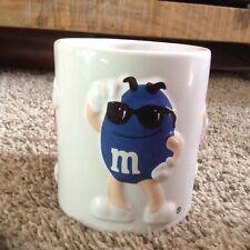 M&M Mars Coffe/tea/ Milk Mug 3D white yellow blue red