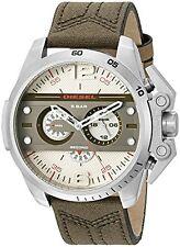 Diesel Men's 'Ironside' DZ4389 Chronograph Green Canvas Leather Watch