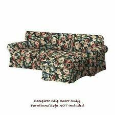 IKEA EKTORP COVER for 3-Seater Sofa & Chaise - Lingbo Multicolour: 304.033.40