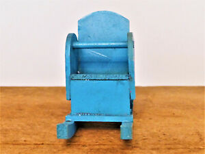 Vintage 1950s Wood Kage HANDMADE Rocking BABY DOLL Chair Doll HOUSE #6