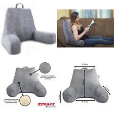 Bed Rest Pillow Backrest Reading Tv Support Cushion Bedrest Soft Arm Back Large