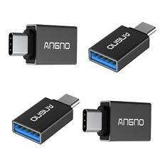TYPE-C To USB 3.0 Adapters 4 Pack MacBook Pro, Google Nexus, Note 8, S8 Angno