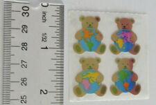 Sandylion vintage very rare picnic bear sticker strip