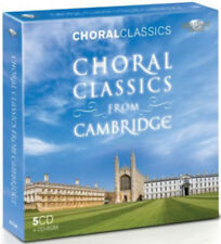 Various Performers : Choral Classics from Cambridge CD (2011) ***NEW***