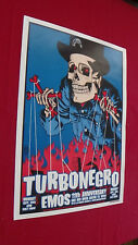 Turbonegro Poster Austin Texas by Brian Ewing 2003