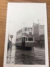 Tram Transport Photo Tram Print / Photograph Postcard Size Crick July 1982 B/W