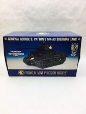 Franklin Mint George S Patton M4-A3 Sherman Tank 1:24 Scale Diecast