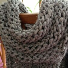 Katniss Hunger Games Inspired Cowl, Wrap, Scarf, Handknit, Brand New! On Sale!