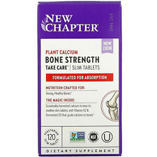 New Chapter Bone Strength Take Care Slim Tablets - 120 Count exp 01/22 NEW LOOK!